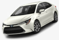 Interior Toyota Corolla 2022 Qatar