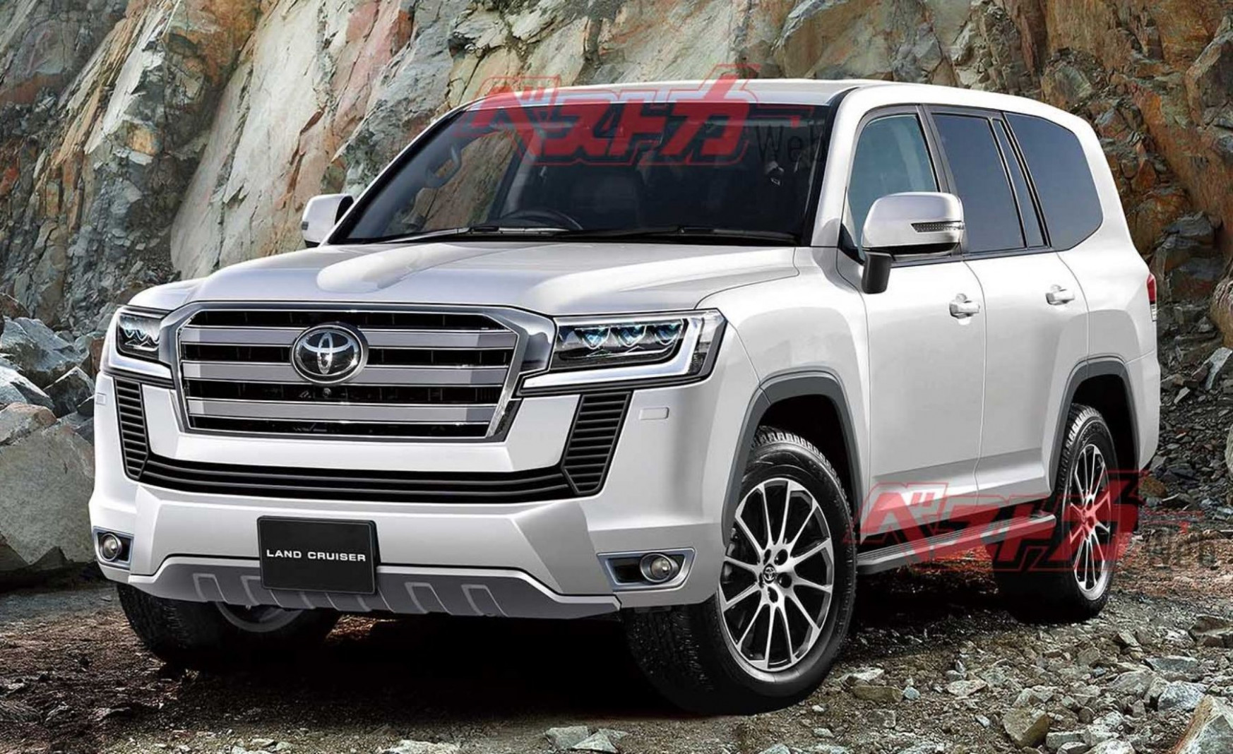 Images Toyota Land Cruiser 2022 Model