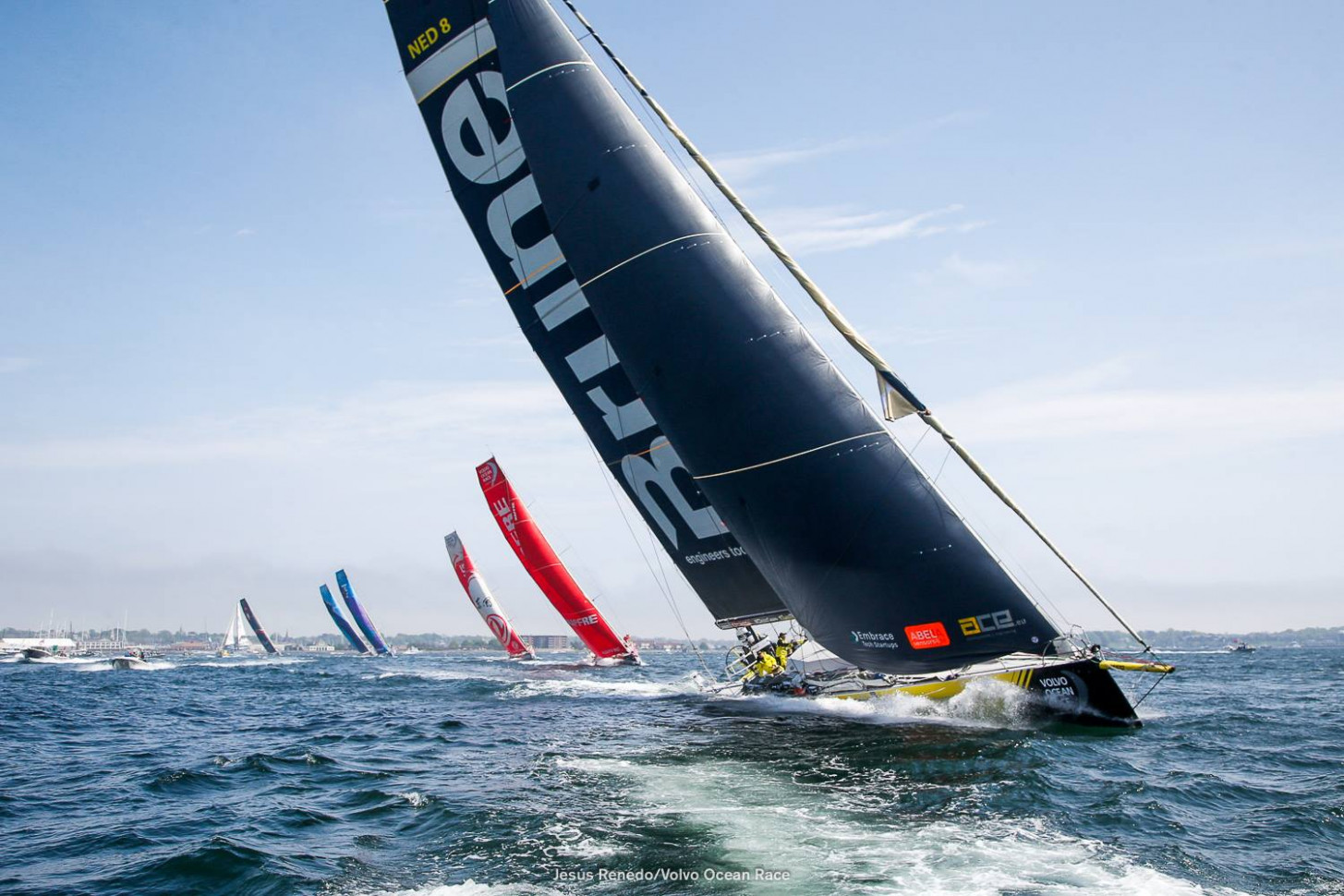 Exterior and Interior Volvo Ocean Race Galway 2022