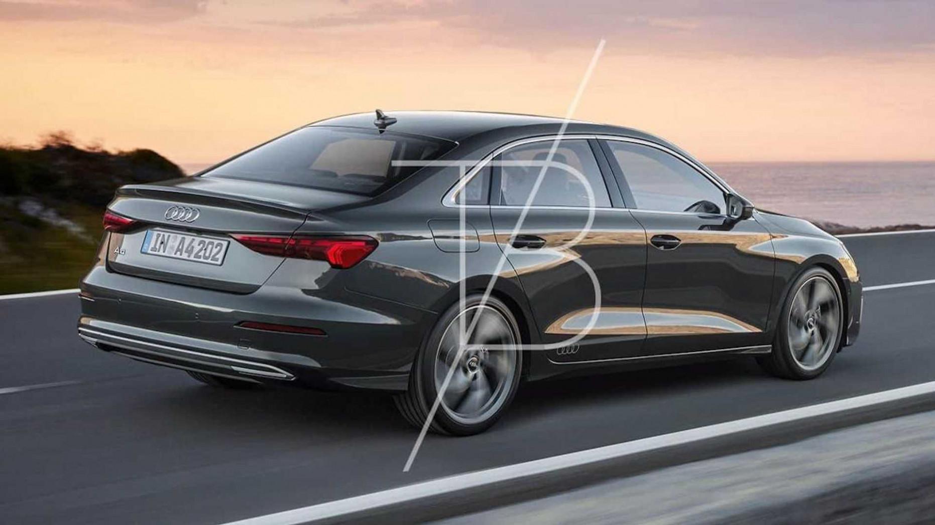 Concept Audi Facelift A4 2022