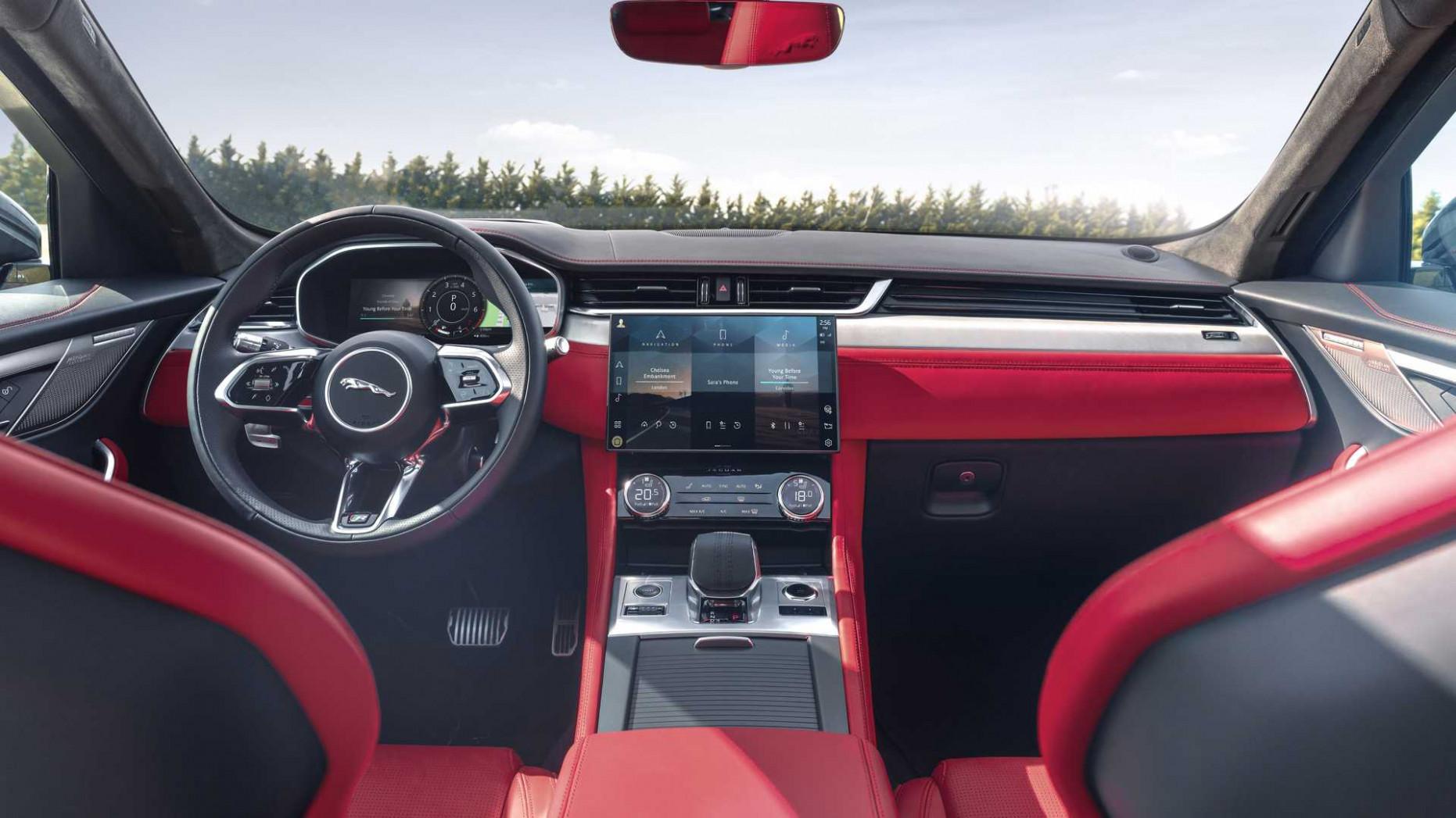 Configurations Jaguar F Pace 2022 Model