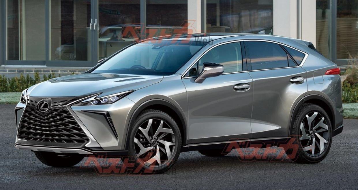Redesign Lexus Nx 2022 Model