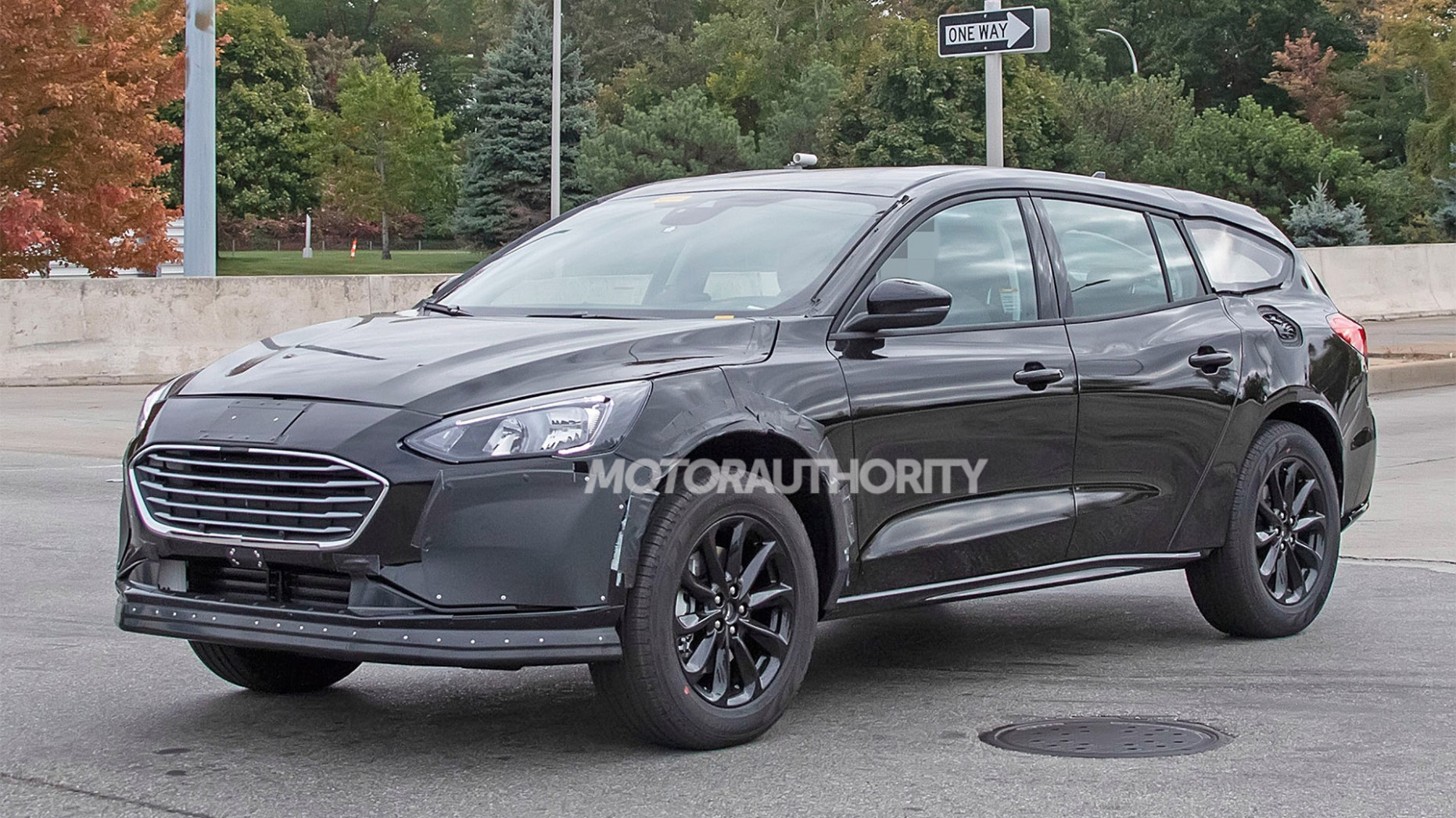 Exterior Spy Shots Ford Fusion