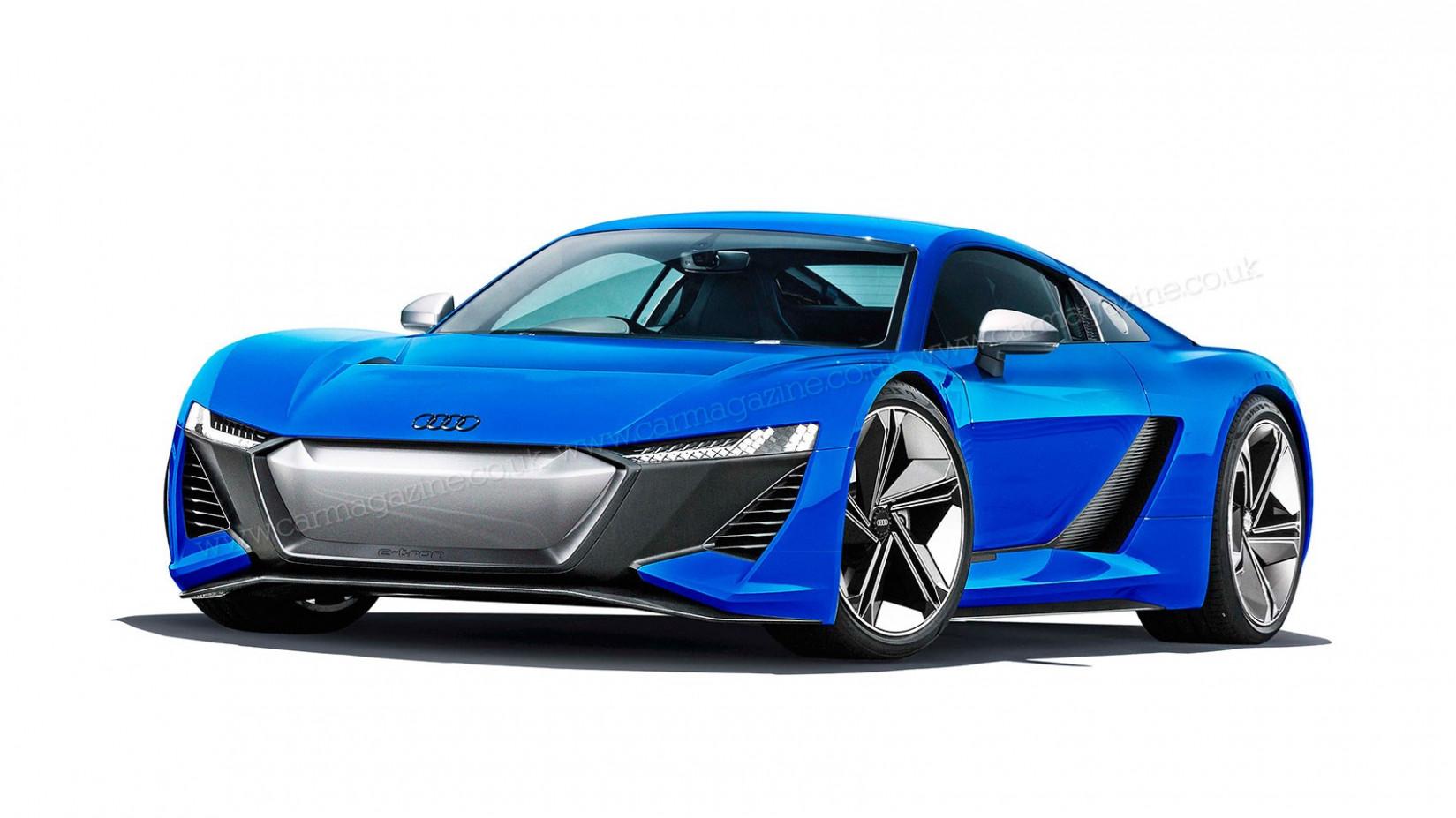 Model 2022 Audi R8 E Tron