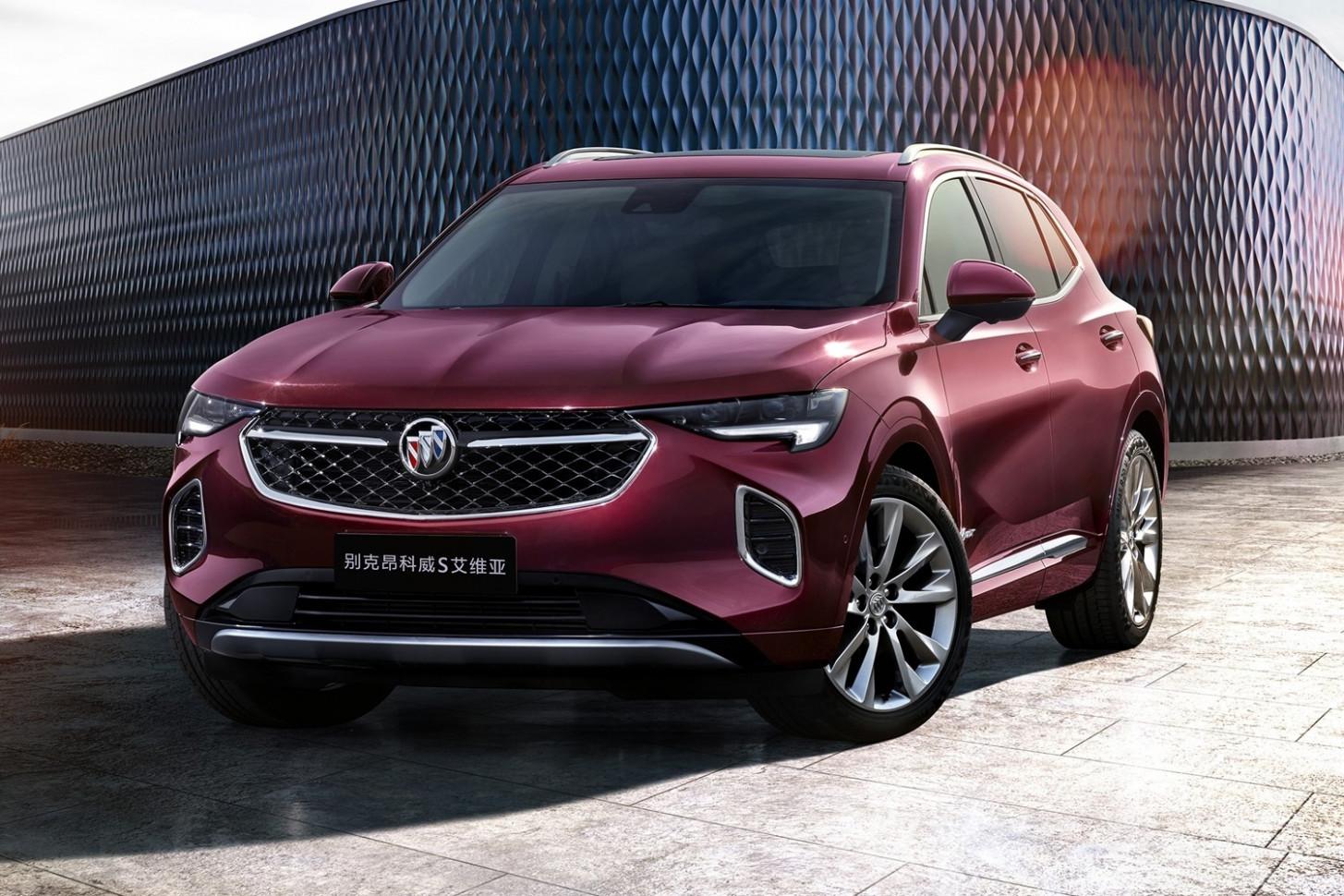 Specs 2022 Buick Envision Colors