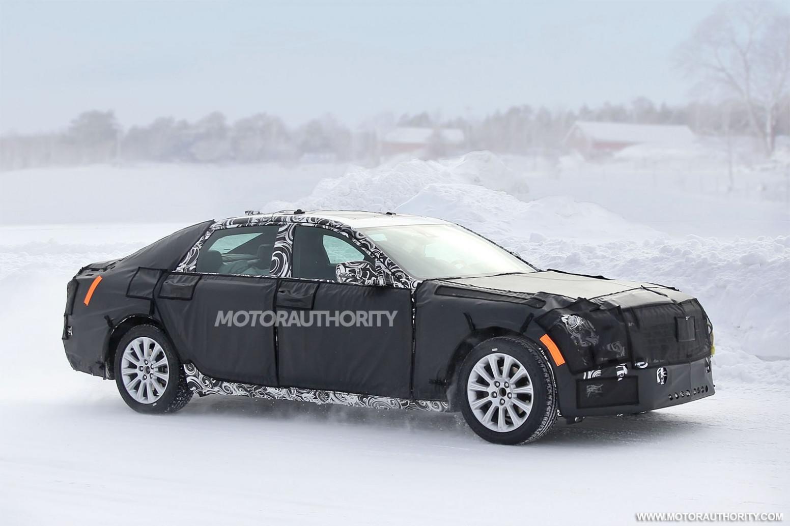 Interior 2022 Cadillac LTS