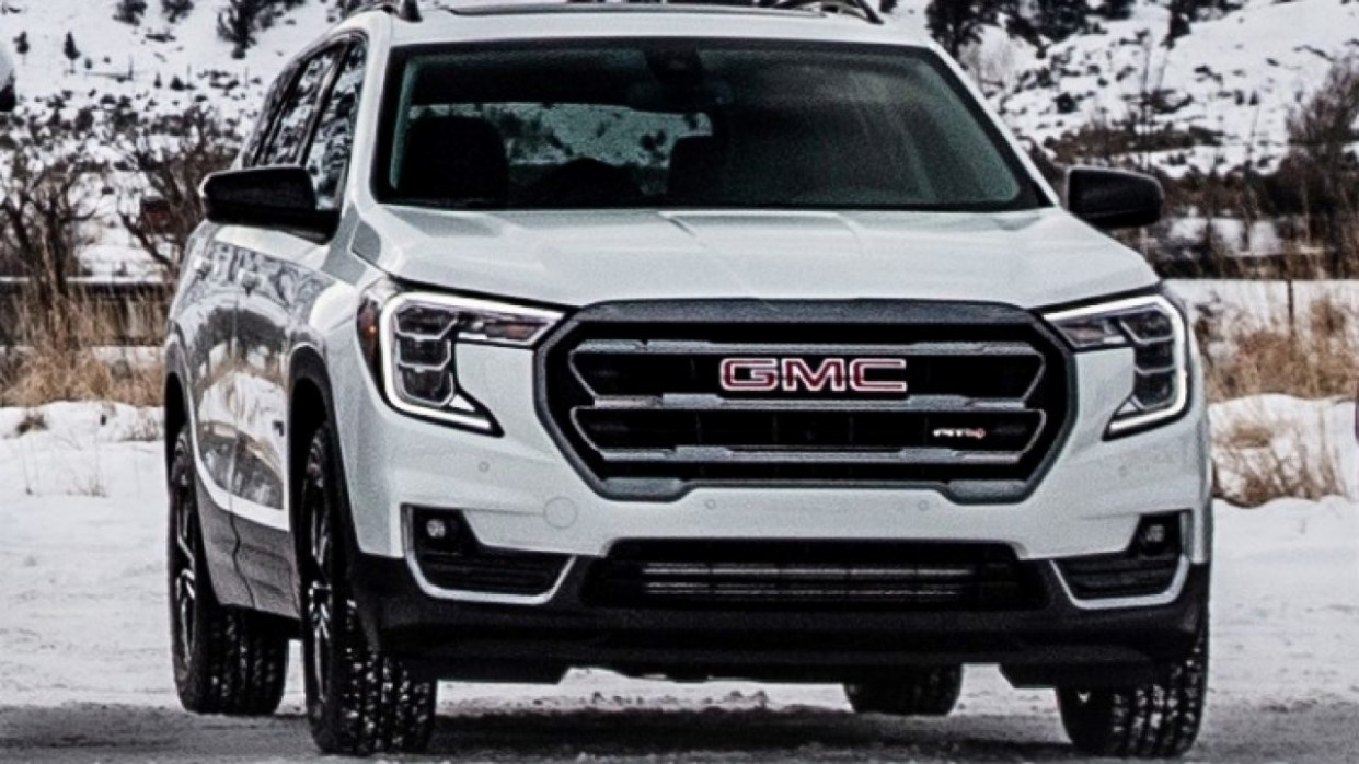 Pictures 2022 Gmc Acadia Changes