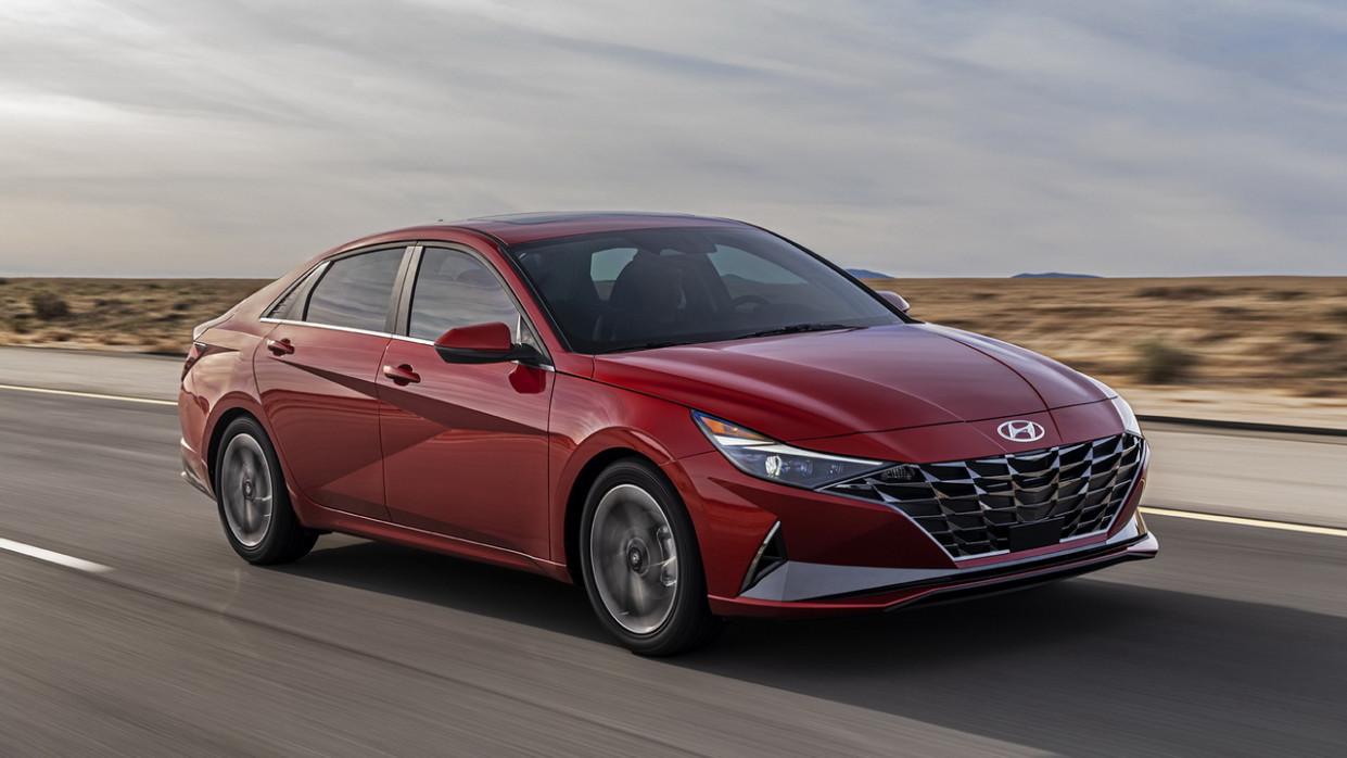 Exterior 2022 Hyundai Elantra Sedan