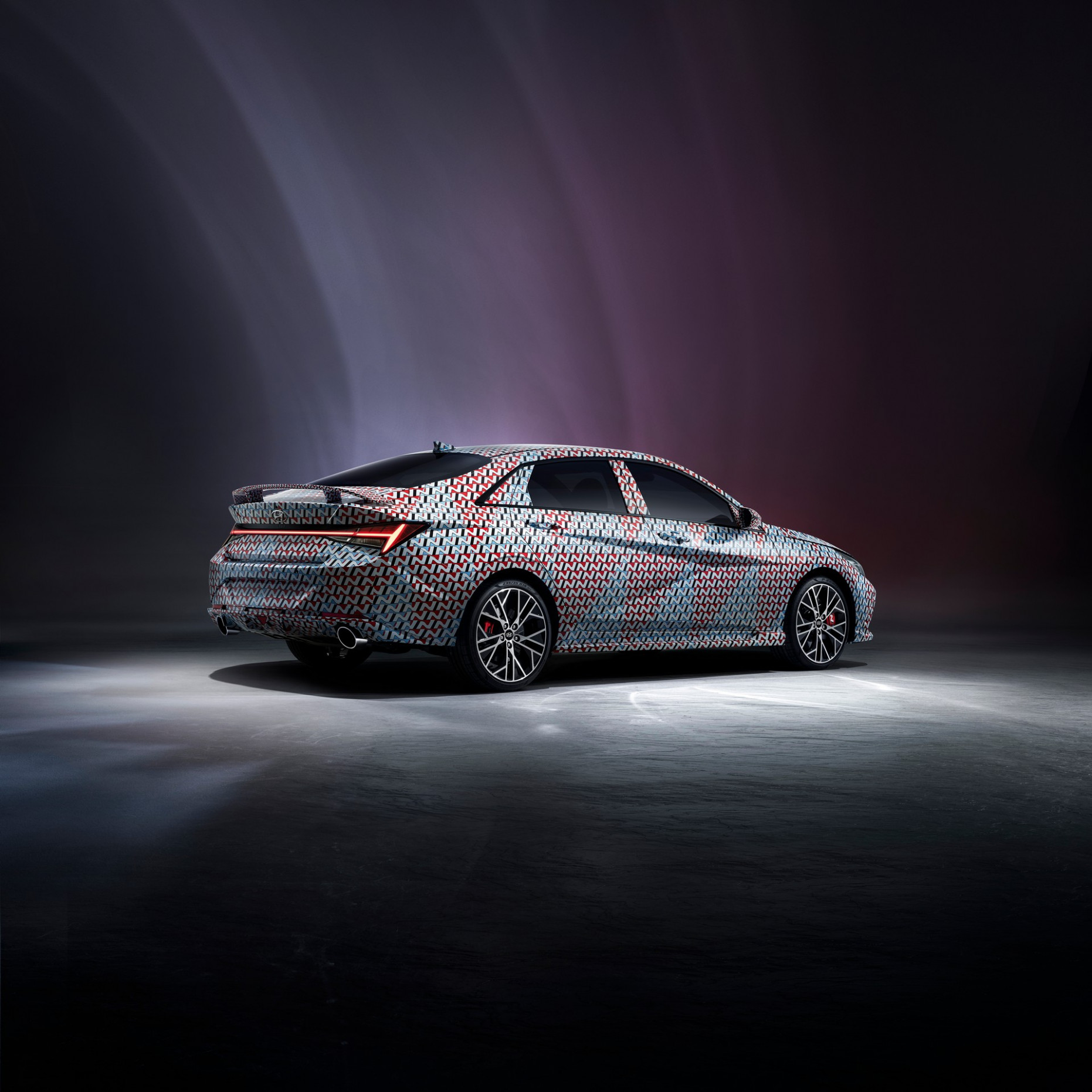Interior 2022 Hyundai Elantra