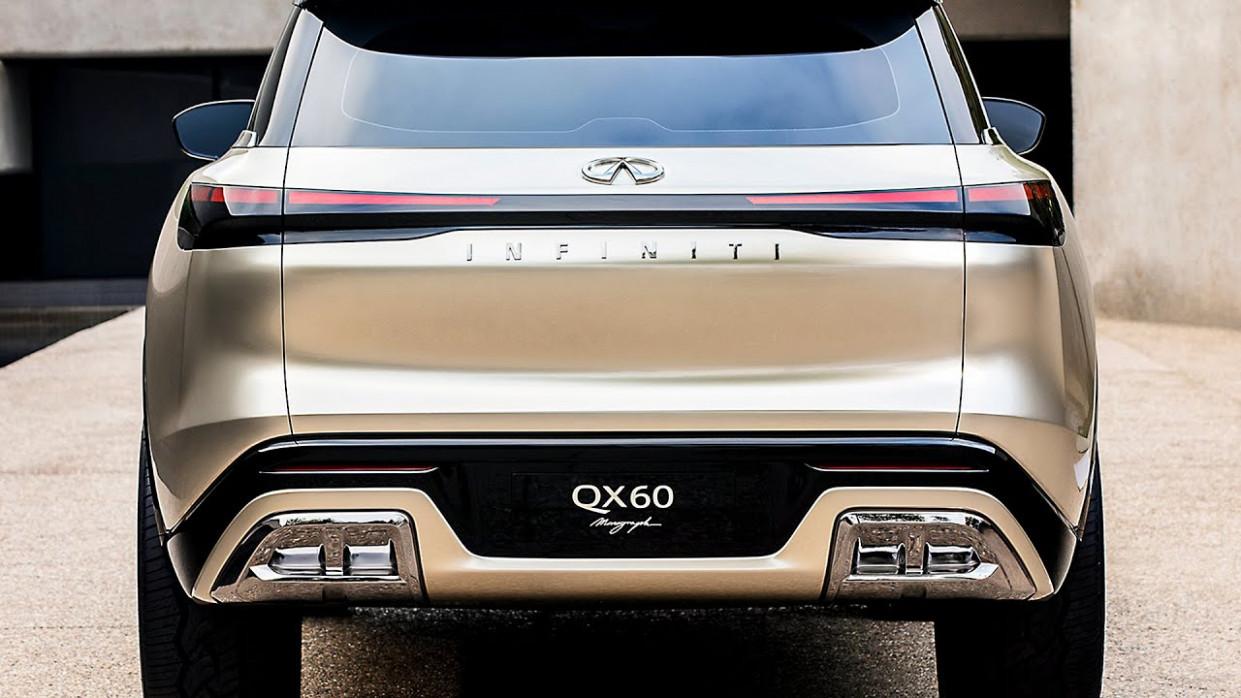 Speed Test 2022 Infiniti Qx60 Interior