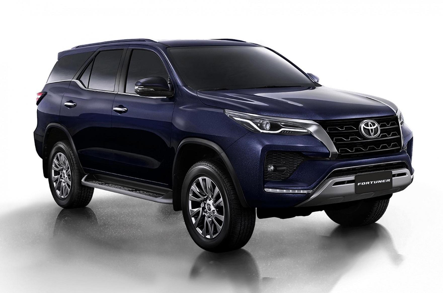Configurations 2022 Toyota Fortuner