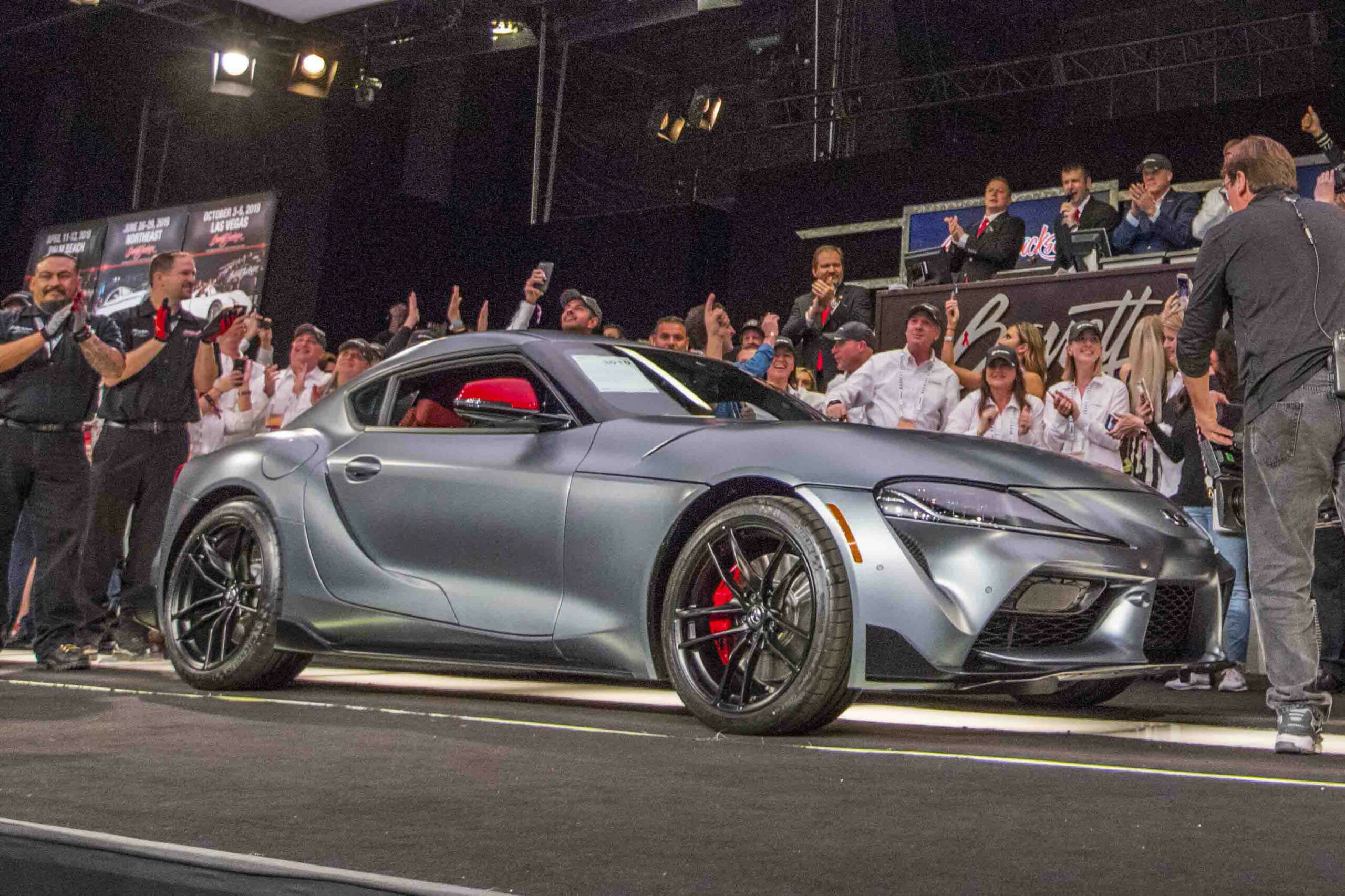 Pricing 2022 Toyota Supra Barrett Jackson