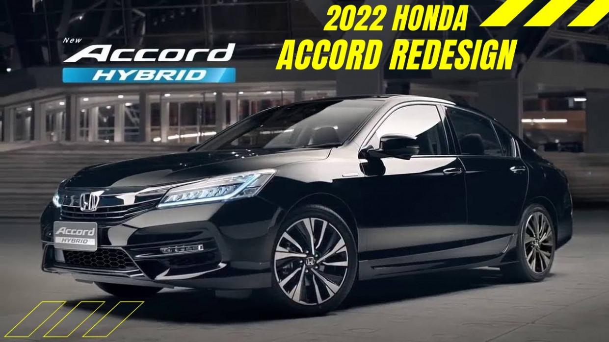 Rumors Honda Accord 2022 Redesign