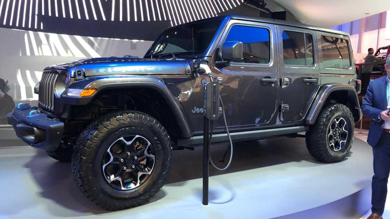 Interior Jeep Electric 2022