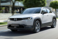 photos mazda electric car 2022