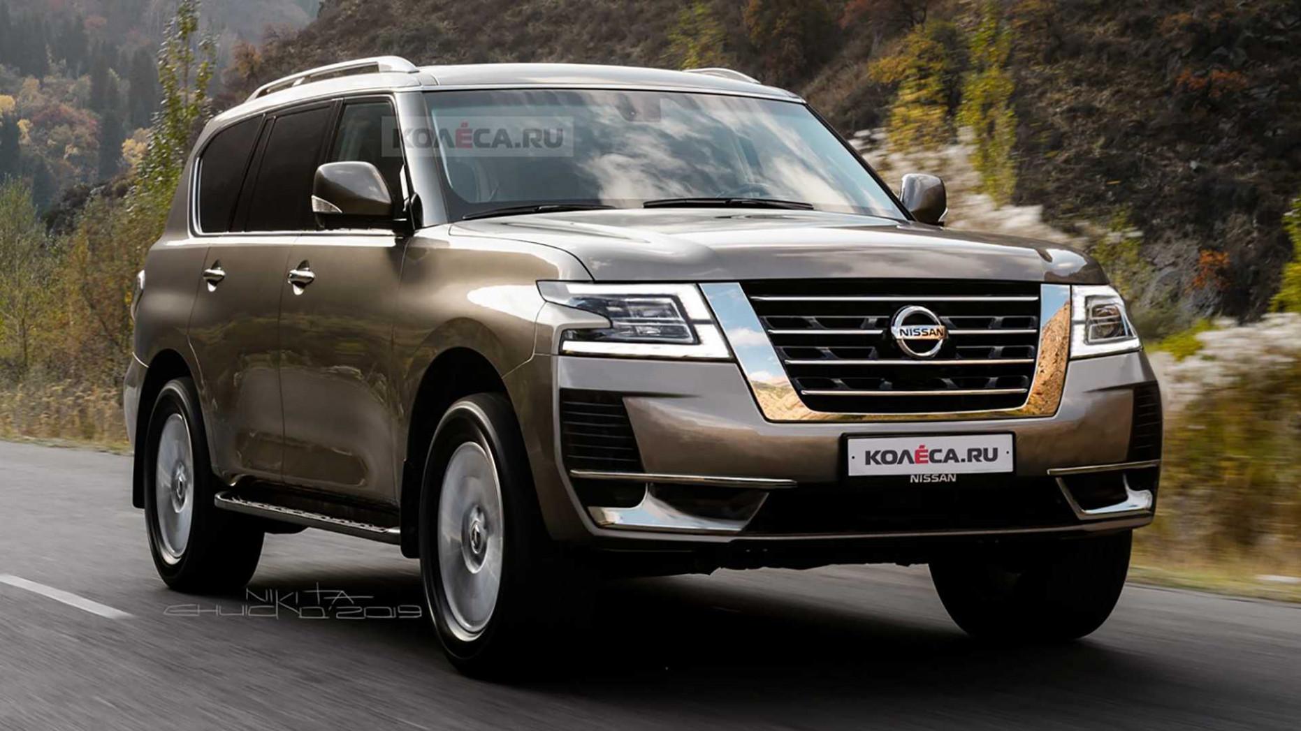 Redesign Nissan Patrol Facelift 2022