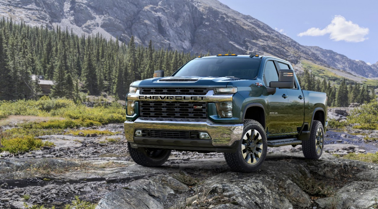 Release 2022 Chevy 2500Hd