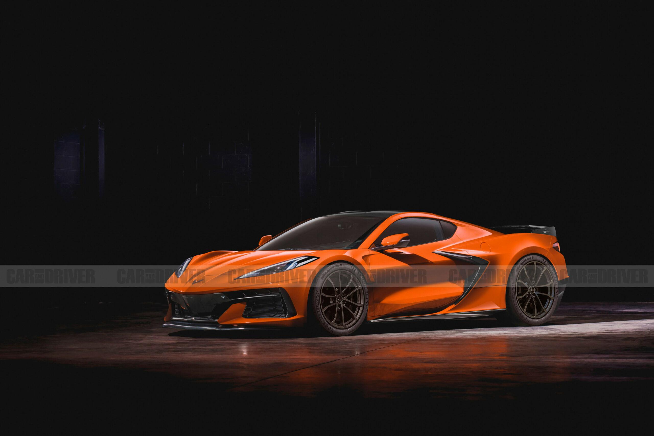 Redesign and Concept 2022 Corvette Z07