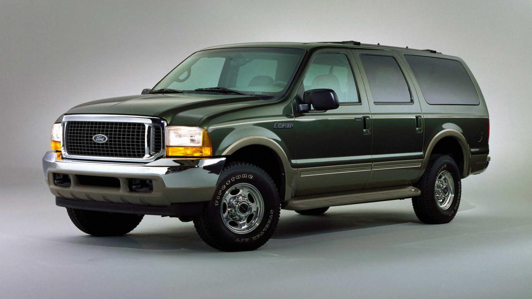 Interior 2022 Ford Excursion Diesel