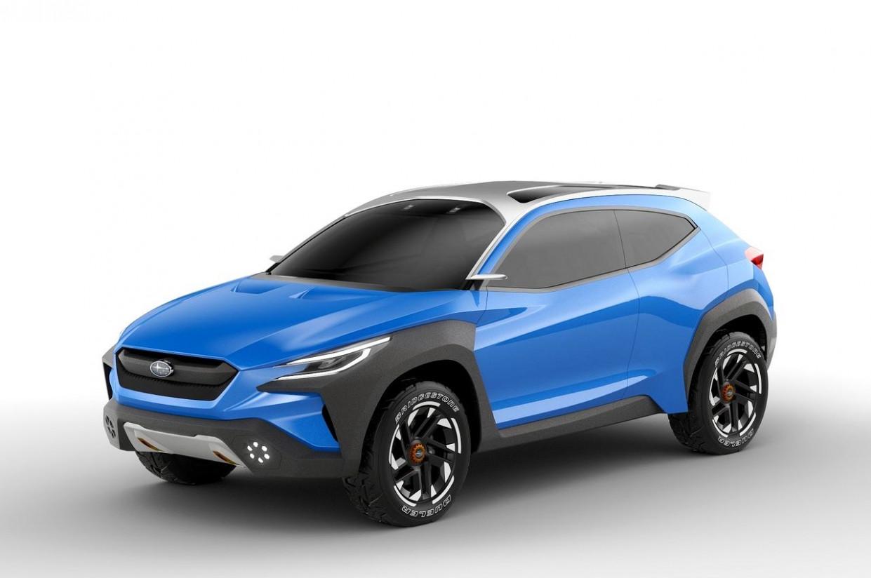 Spy Shoot 2022 Subaru Crosstrek Hybridand