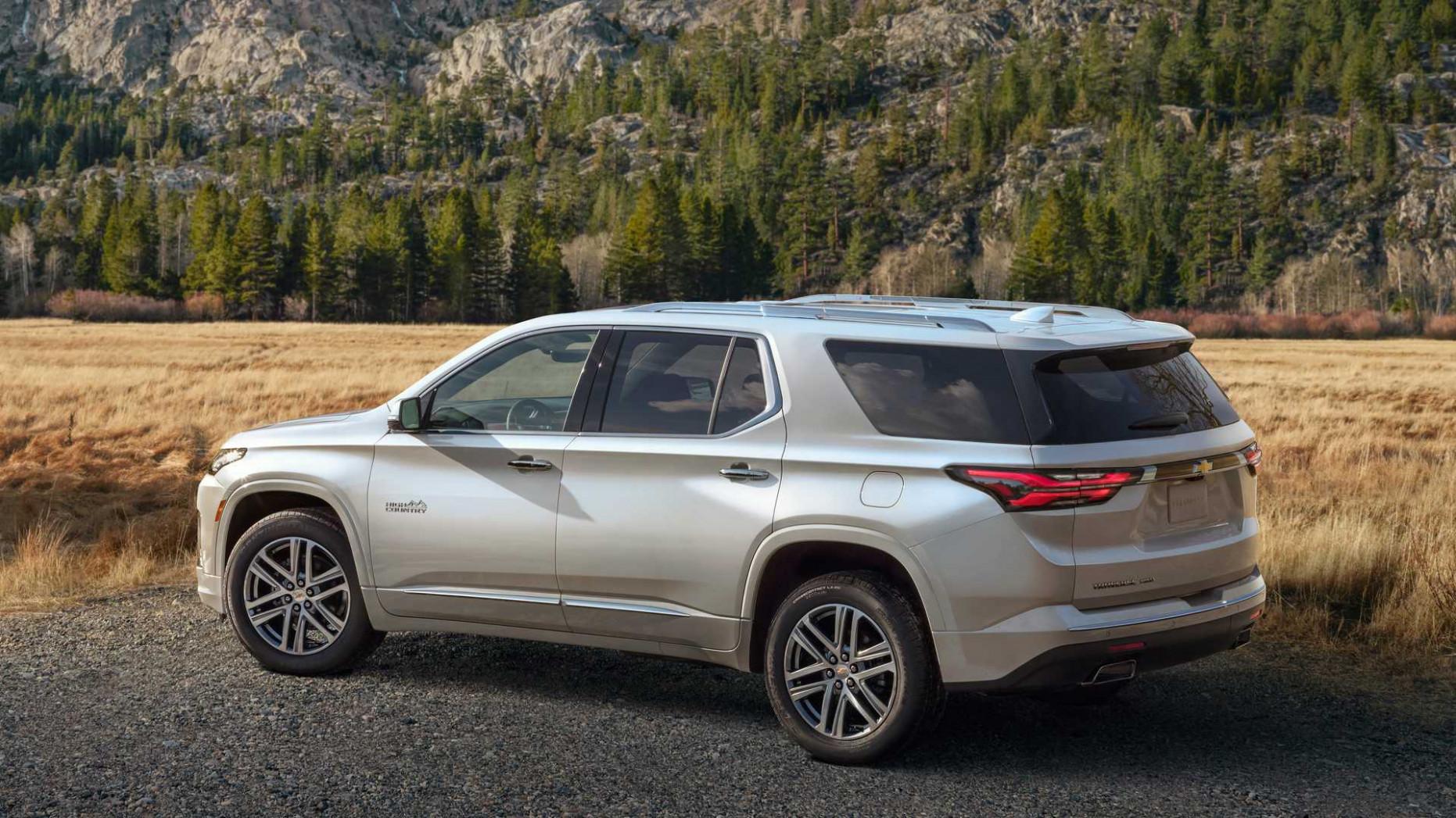 Prices Chevrolet Traverse 2022