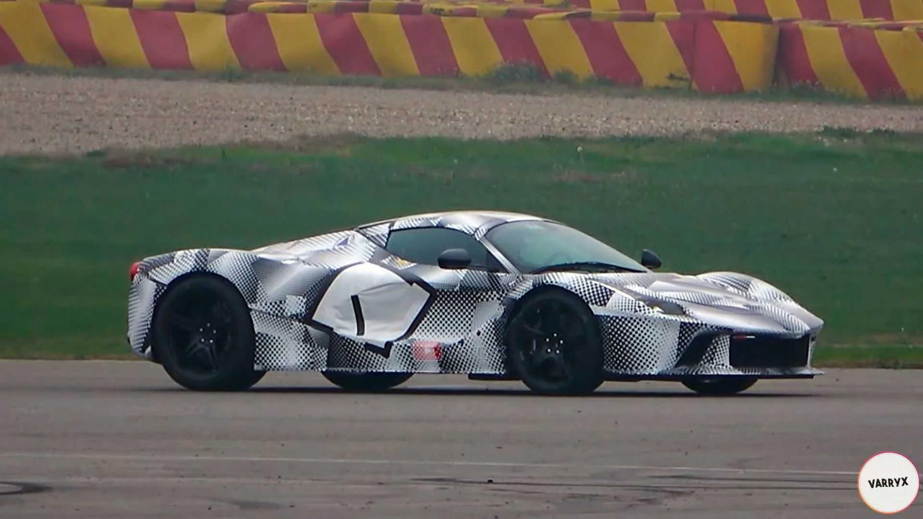 Spesification Ferrari K 2022
