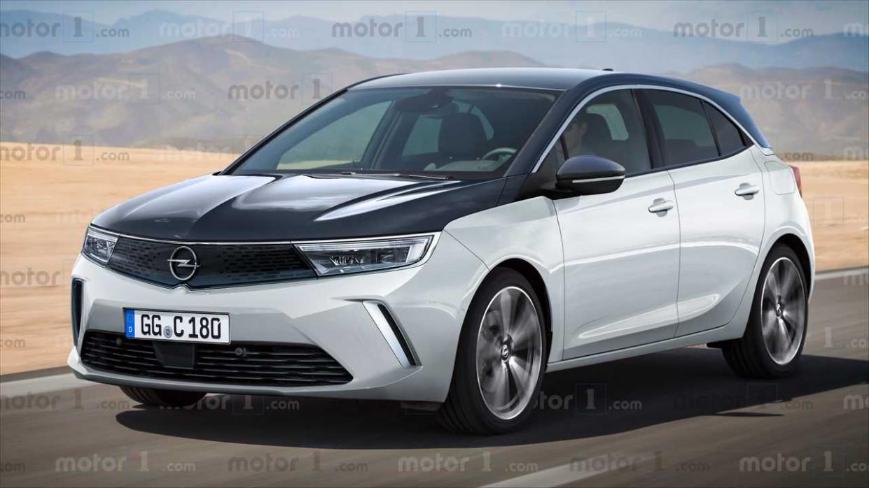 Wallpaper Opel Astra Kombi 2022