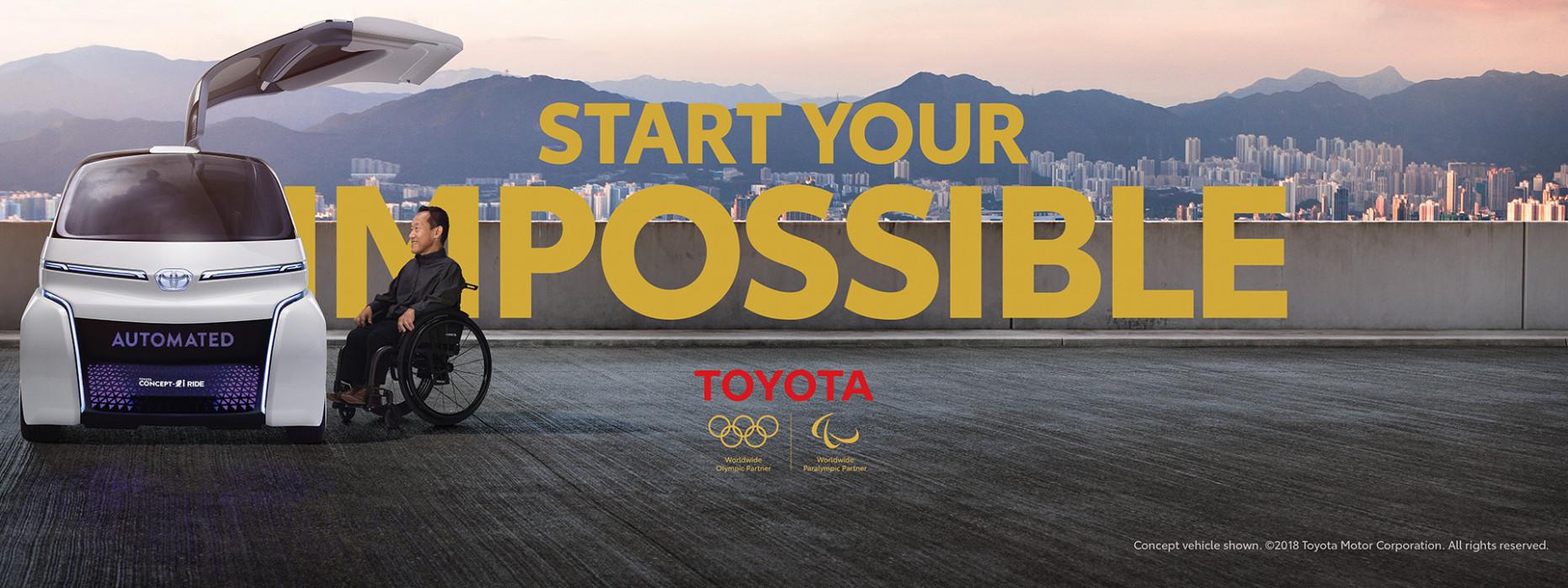 Redesign Toyota Olympics 2022