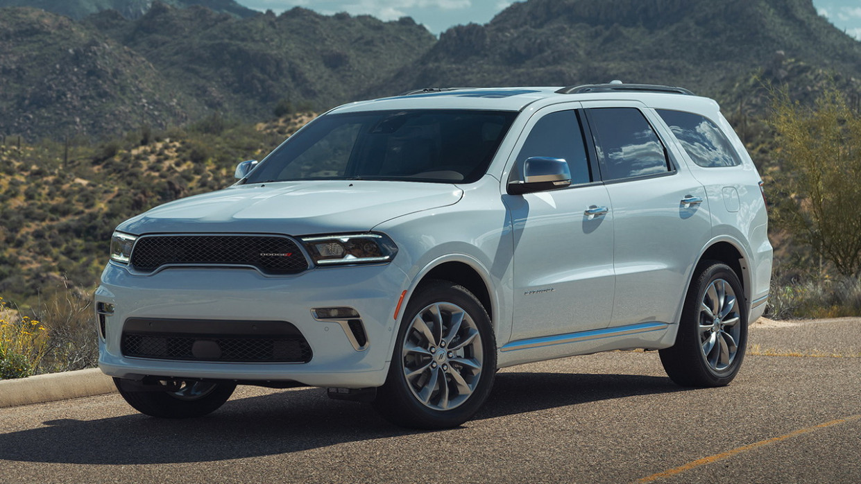Price and Review 2022 Dodge Durango Interior
