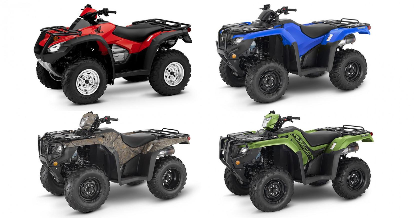 Reviews 2022 Honda Atv Lineup