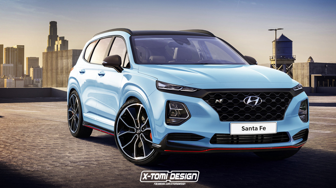 New Concept 2022 Hyundai Santa Fe N