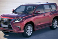 pictures 2022 lexus gx 460 spy photos