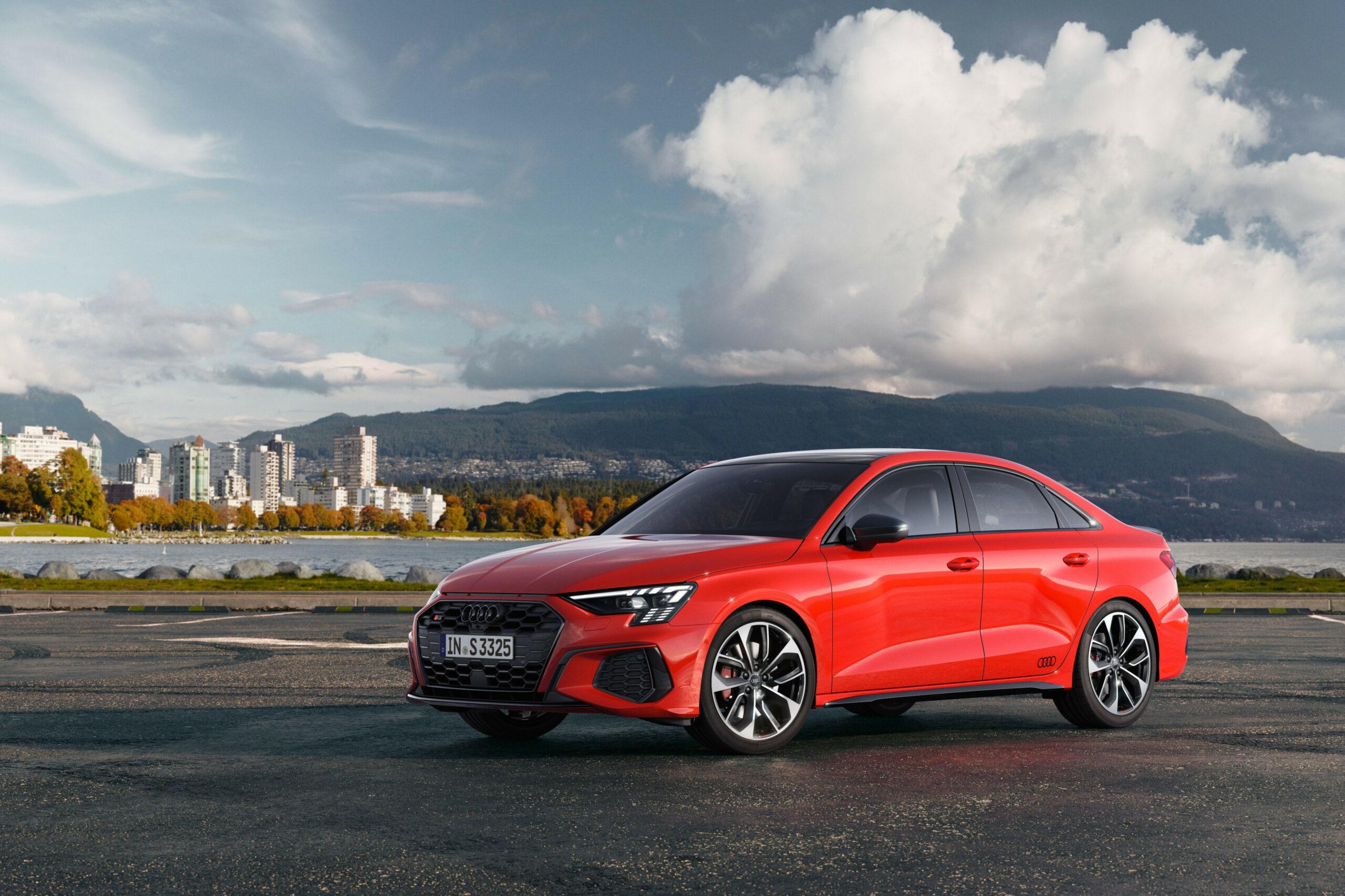 Spy Shoot Audi S3 2022