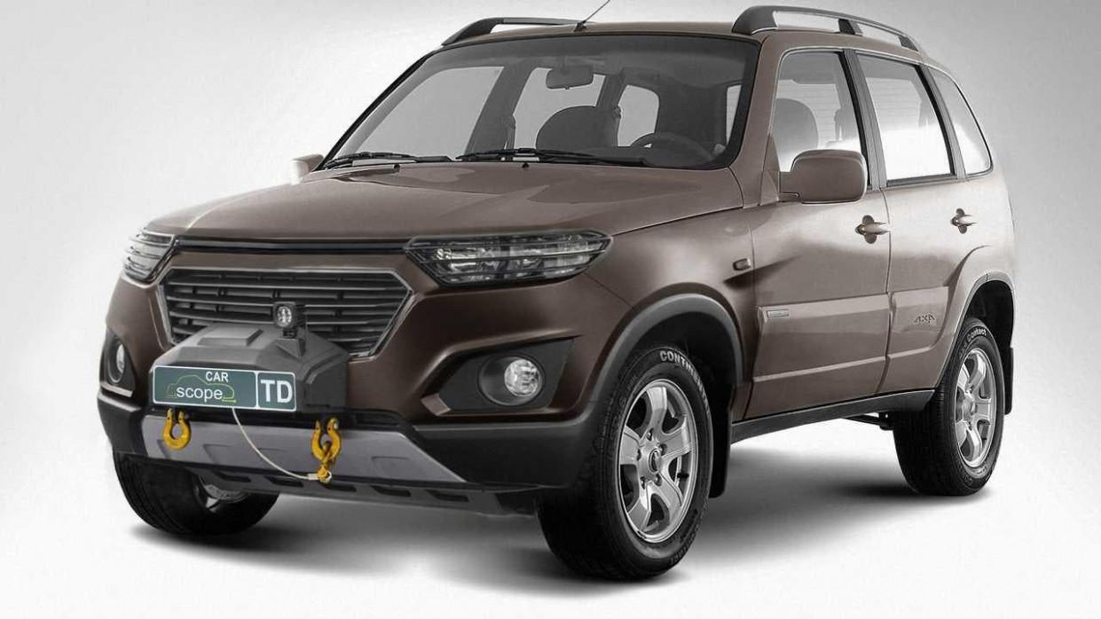 Research New Chevrolet Niva 2022