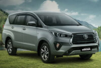 pictures toyota innova crysta facelift 2022