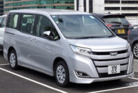 Overview Toyota Voxy 2022
