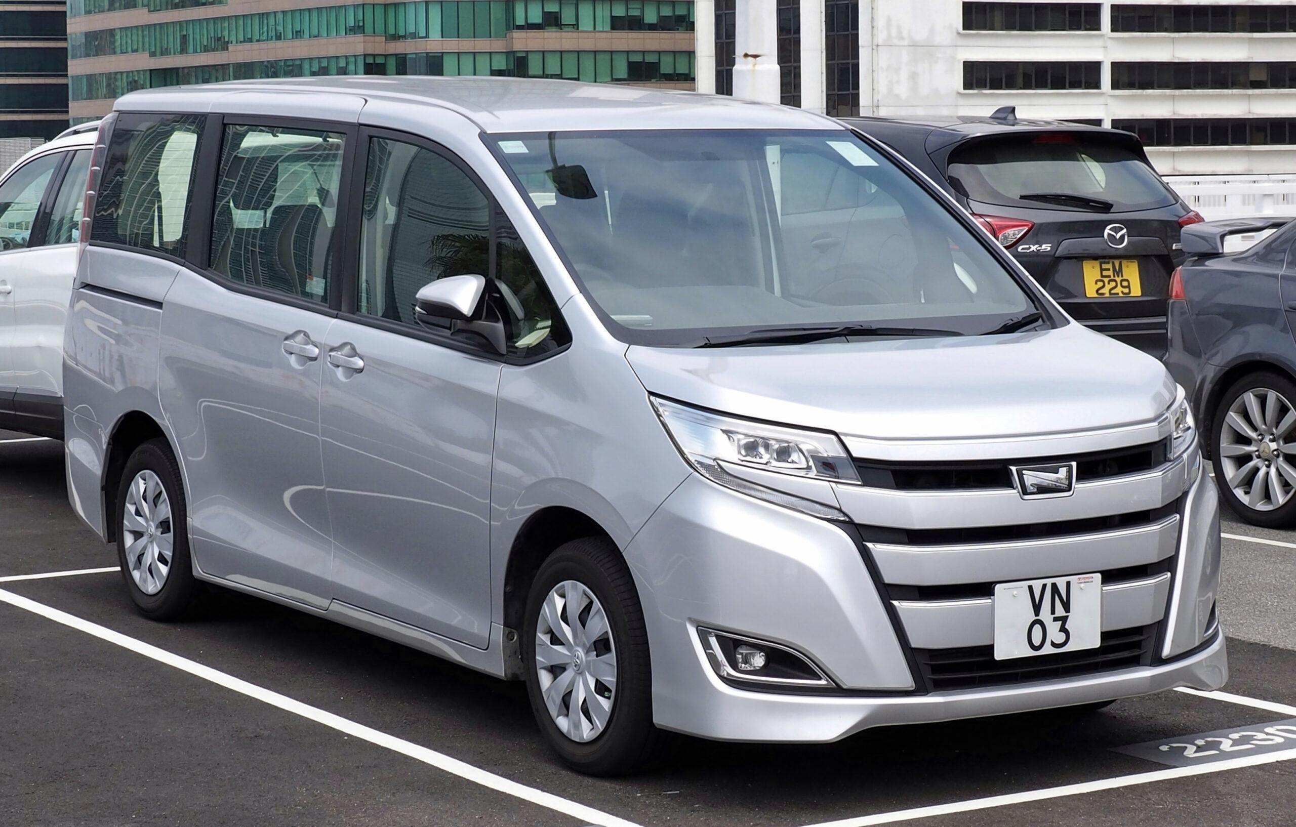 Prices Toyota Voxy 2022