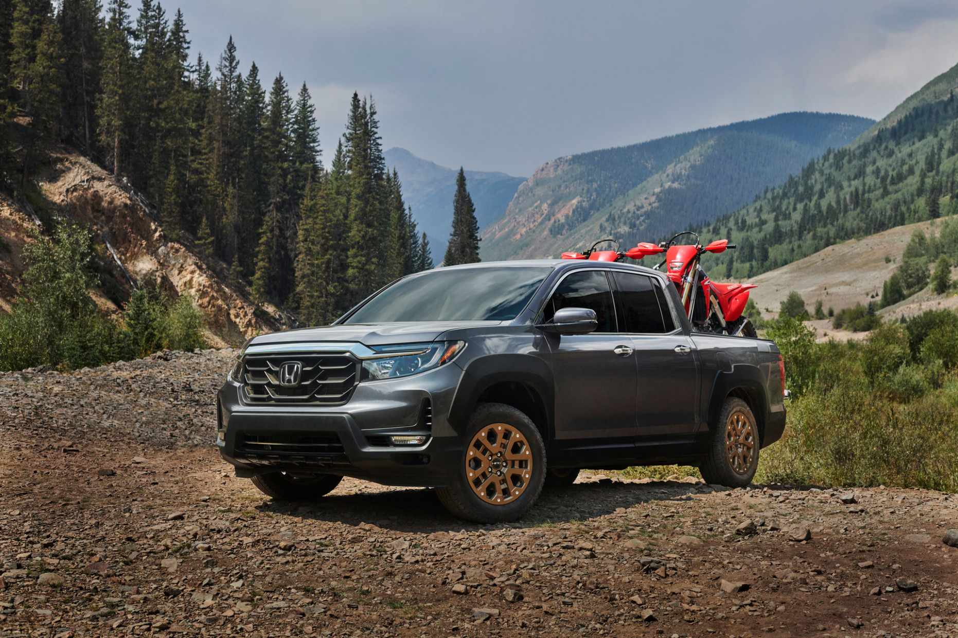 Research New 2022 Honda Ridgelineand