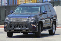 price 2022 lexus gx spy photos
