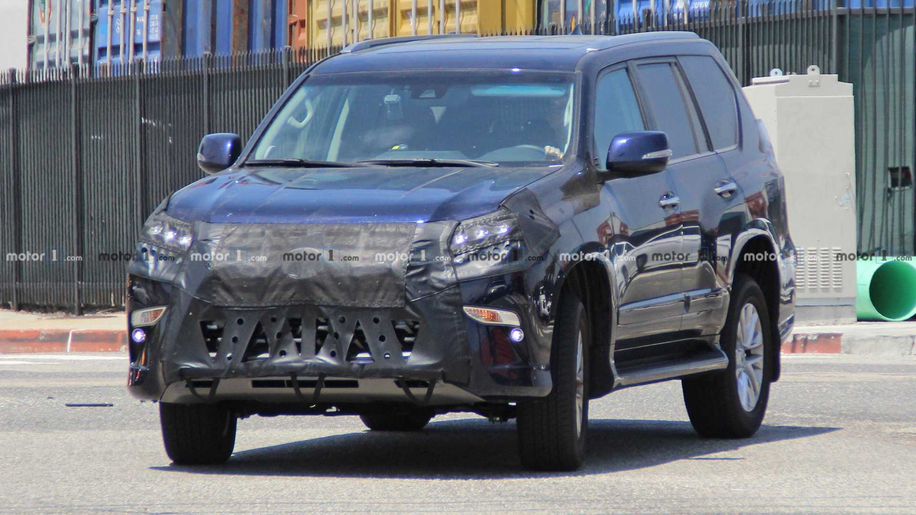 Redesign and Review 2022 Lexus Gx Spy Photos