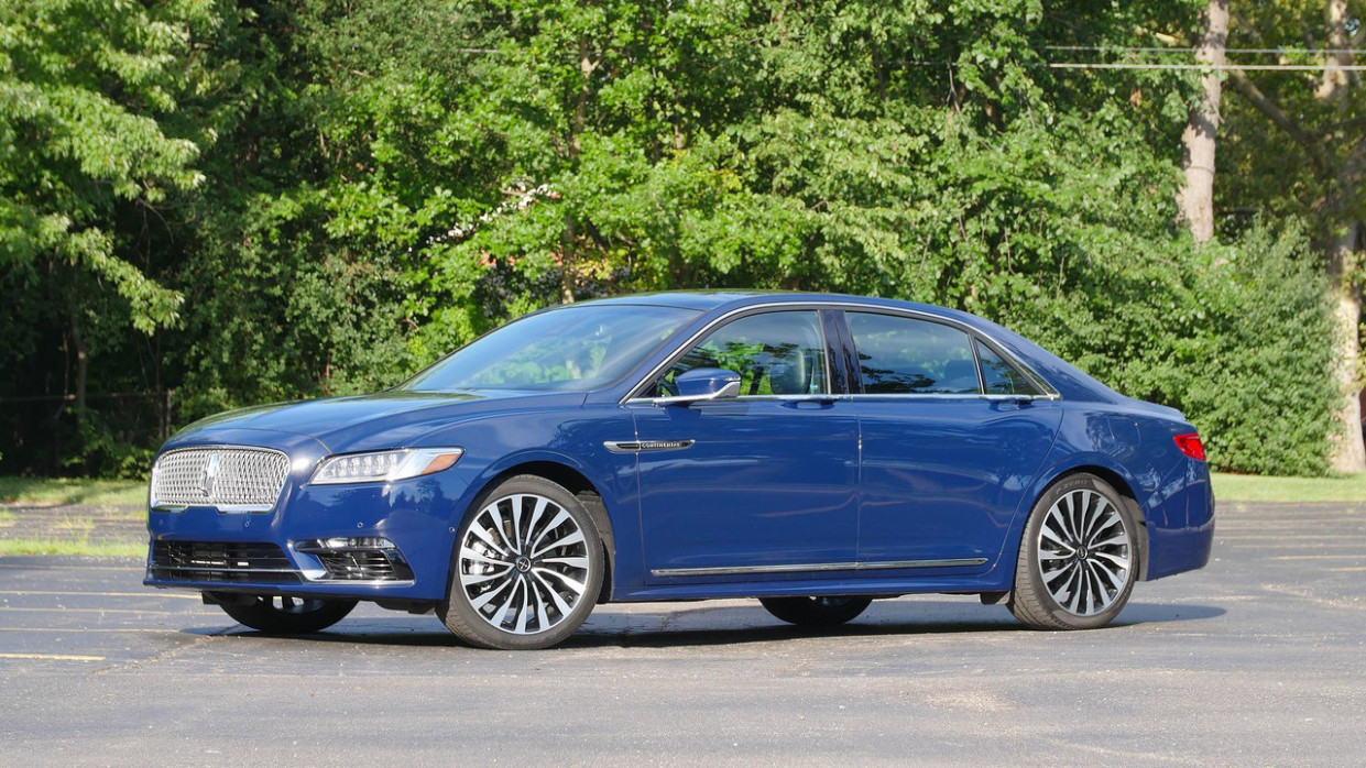 History 2022 The Lincoln Continental
