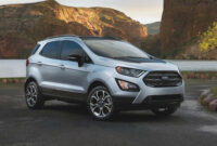 price and release date 2022 ford ecosport