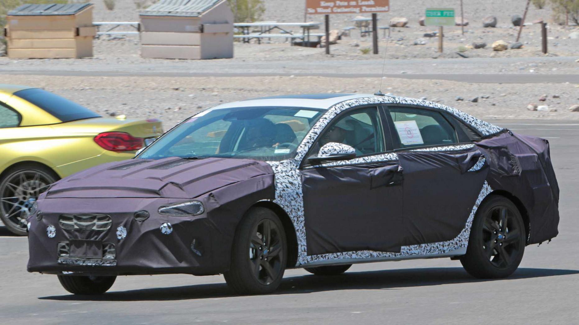 New Concept 2022 Hyundai Elantra Sedan