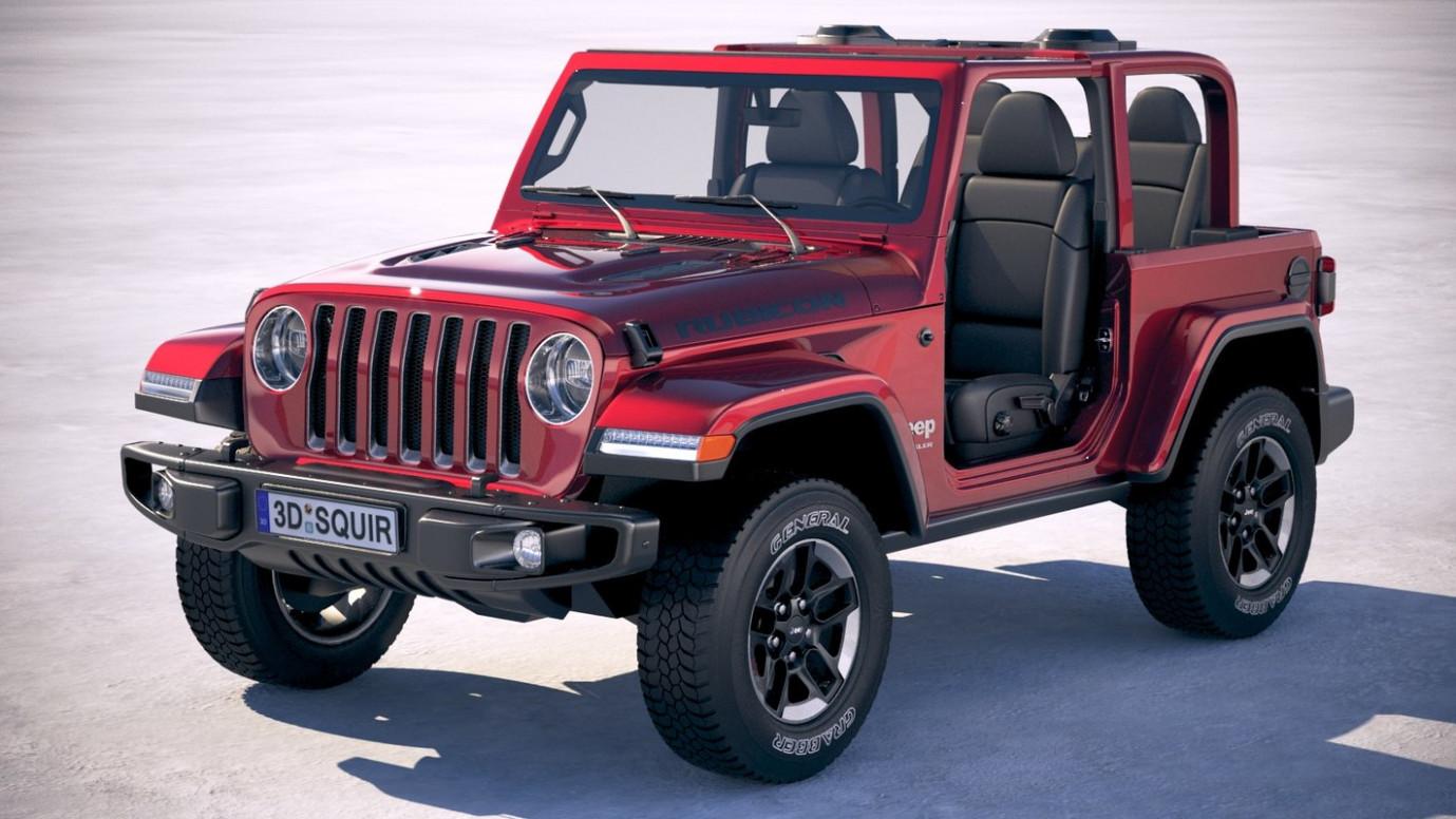 Performance 2022 Jeep Wrangler Rubicon