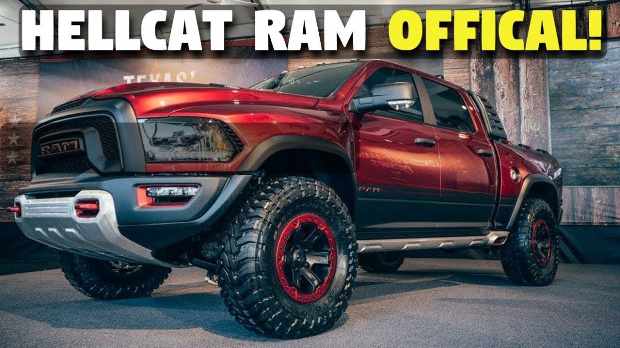 Release Date and Concept 2022 Ram 1500 Hellcat Diesel