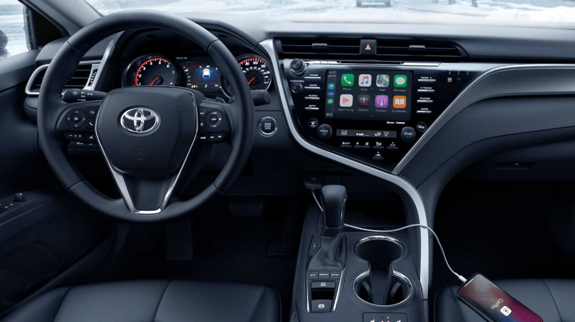 Interior 2022 Toyota Camry Se Hybrid