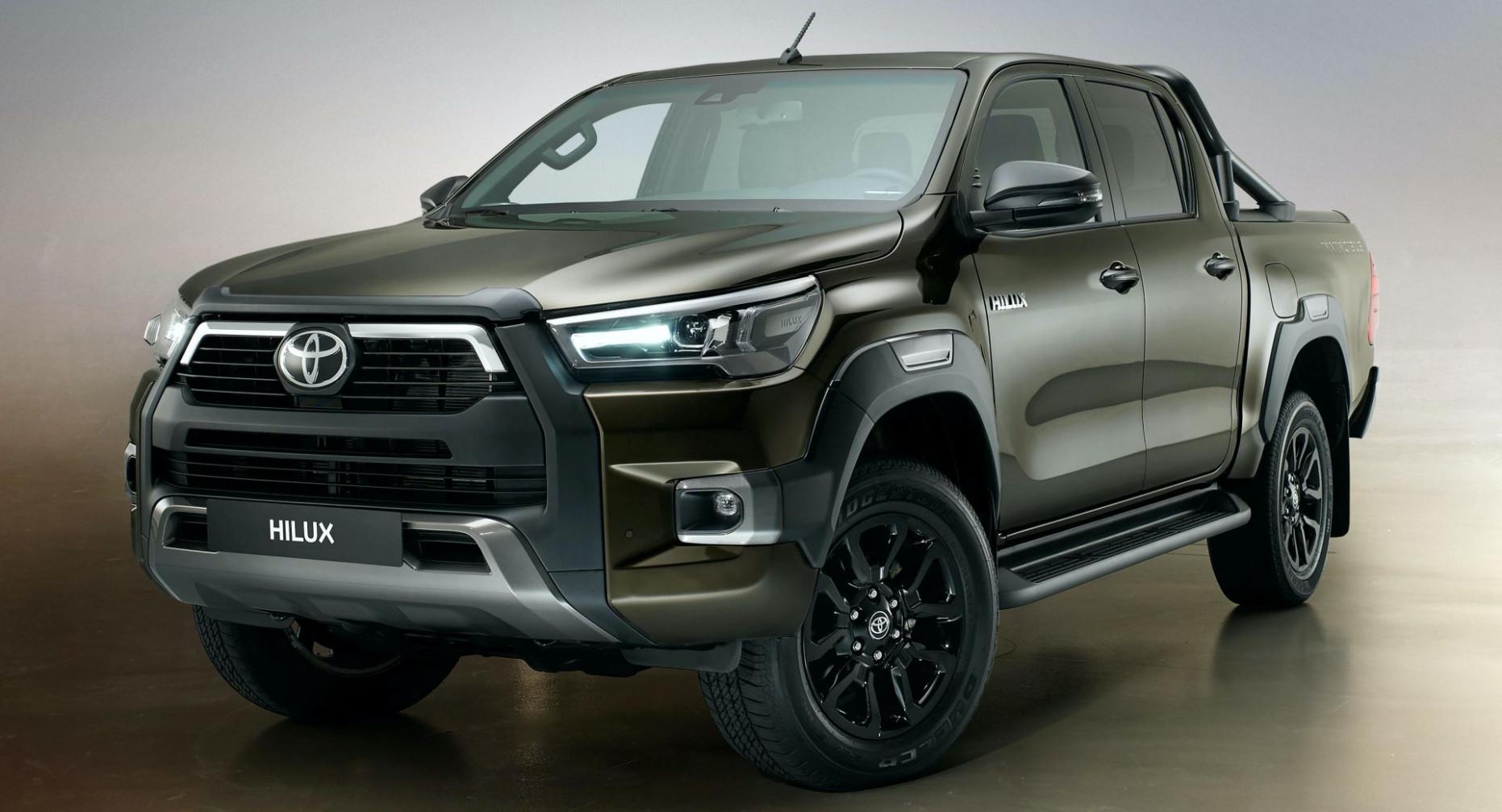 Rumors 2022 Toyota Hilux Spy Shots