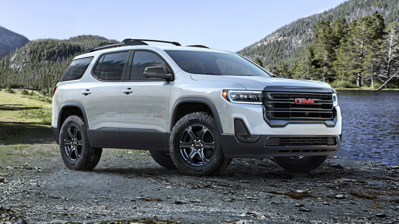 Release Date and Concept Gmc Acadia 2022 Vs 2019