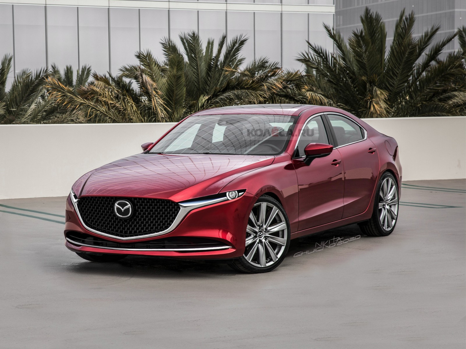 Redesign and Concept Mazda Sport 2022