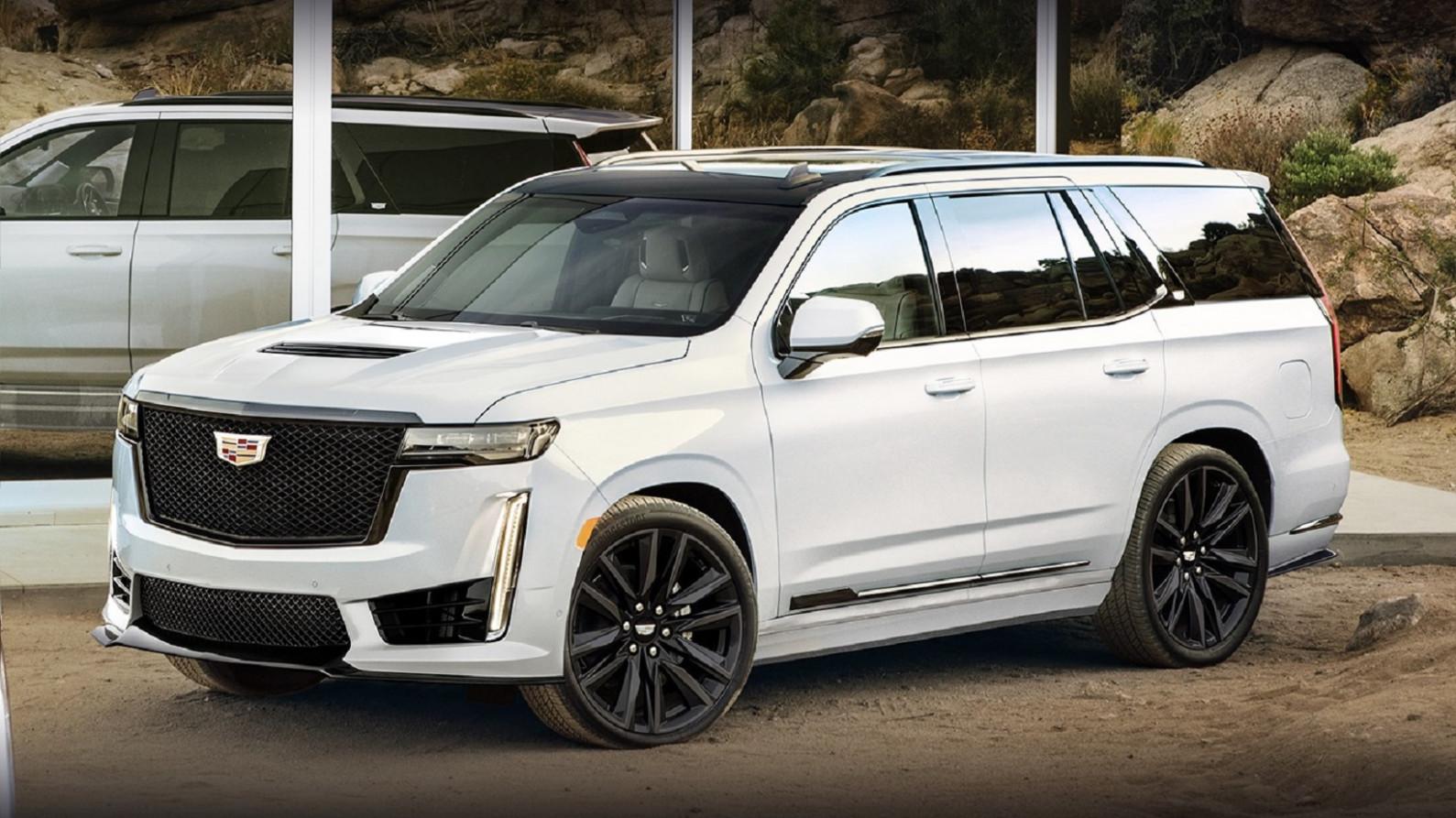 Redesign and Review 2022 Cadillac Escalade Vsport